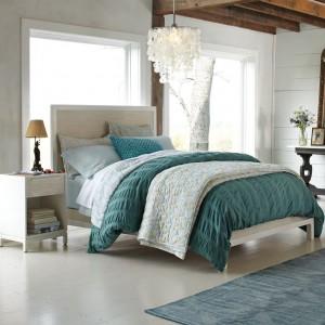 Capiz Pendant Bedroom