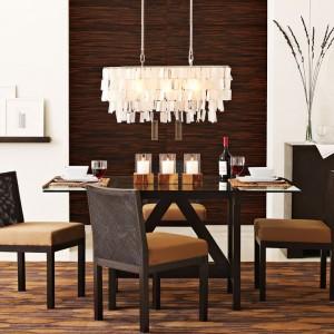 Capiz Pendant Dining Room