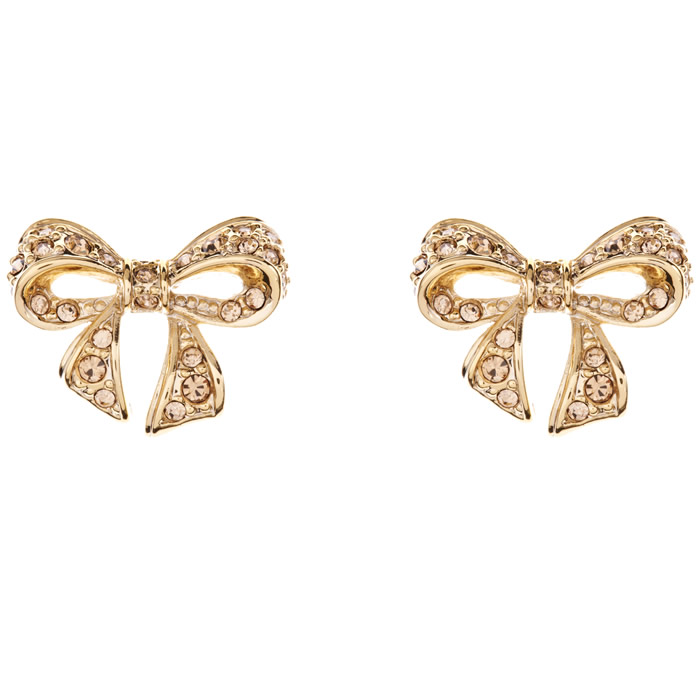 Ted Baker Pavé Topaz Earrings