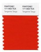 PANTONE - Tangerine Tango