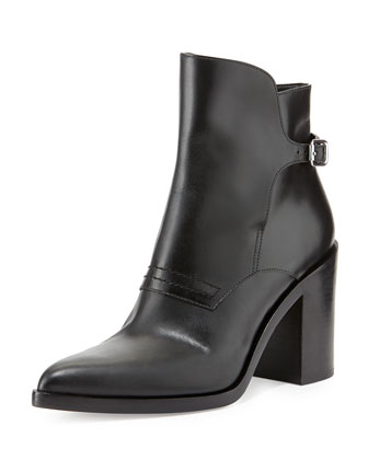 Alexander Wang Clarice Leather Bootie