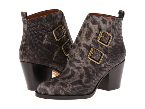Marc by Marc Jacobs Snake Printed Buckle Boot